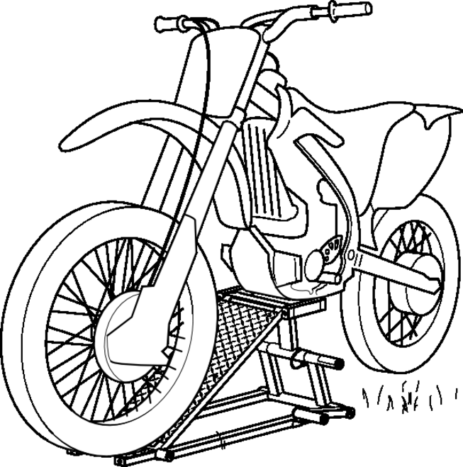 moto moto coloring pages - photo#16
