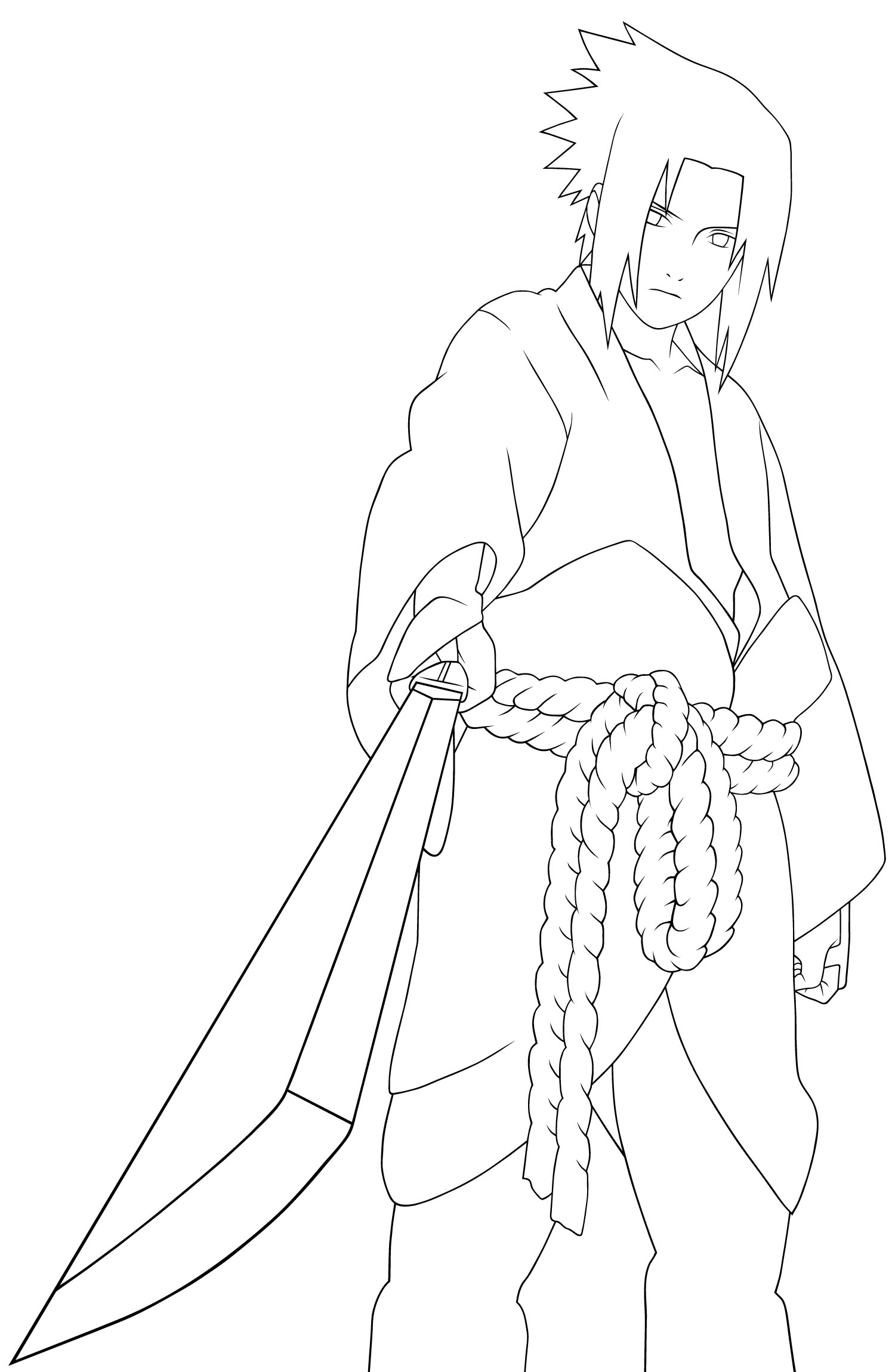 naruto coloring pages 999 - photo#22