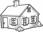 house coloring pages 2