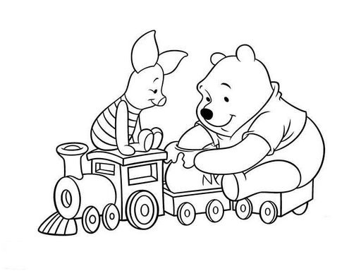 Index Of Images Pooh Para Colorir